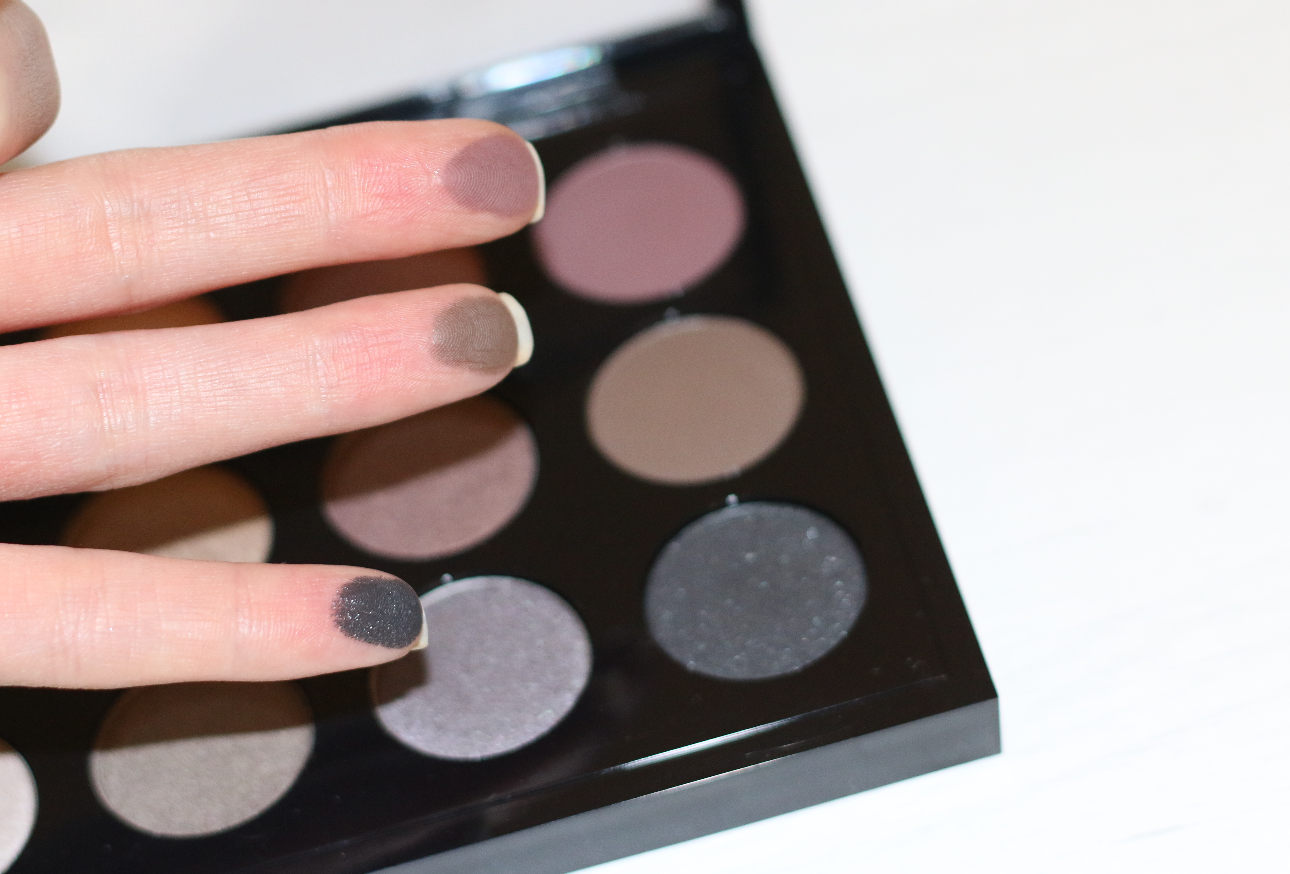 mac cool neutral palette review