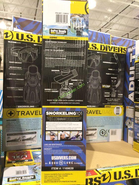 us divers snorkel set review costco