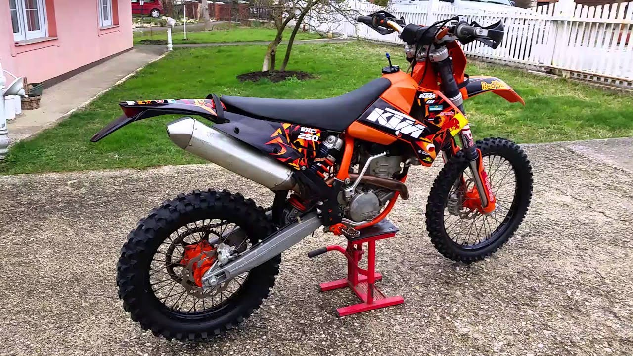 ktm 250 exc 2007 review