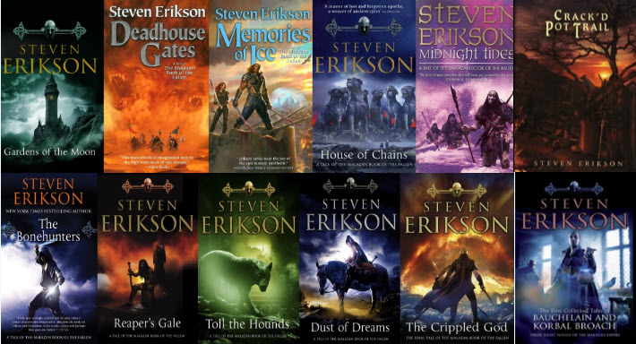 malazan book of the fallen series review