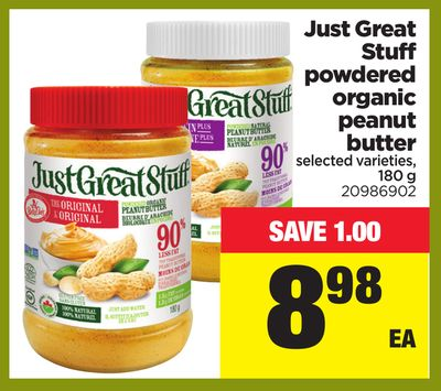 just great stuff peanut butter review
