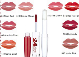 maybelline new york superstay 24 color 2 step lipstick review
