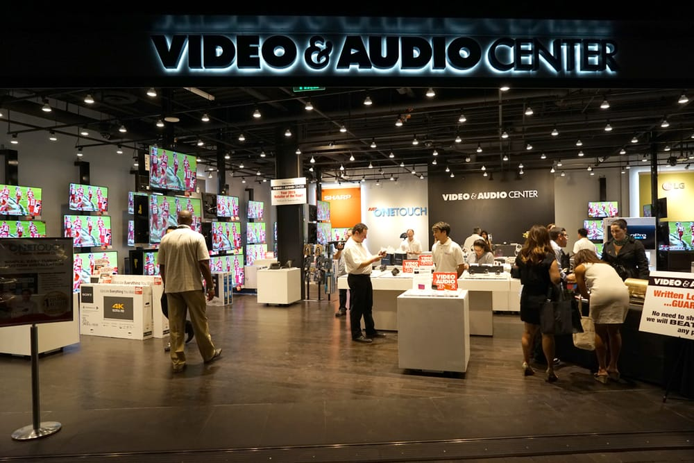 video and audio center reviews
