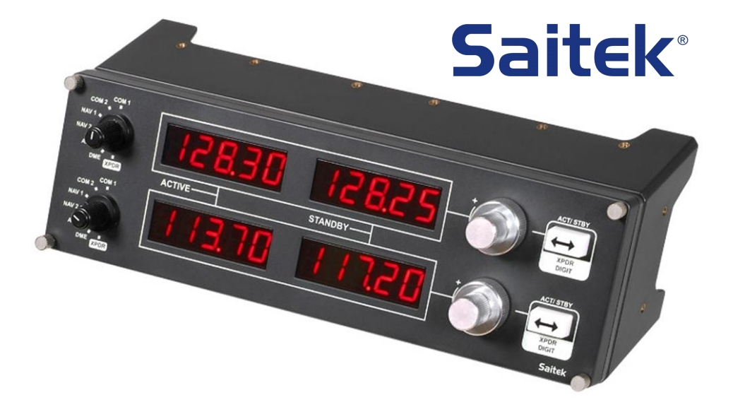 saitek pro flight radio panel review