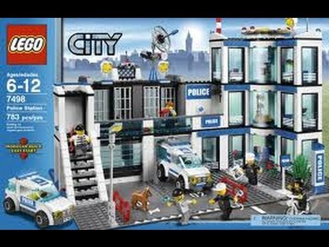 lego city police station review