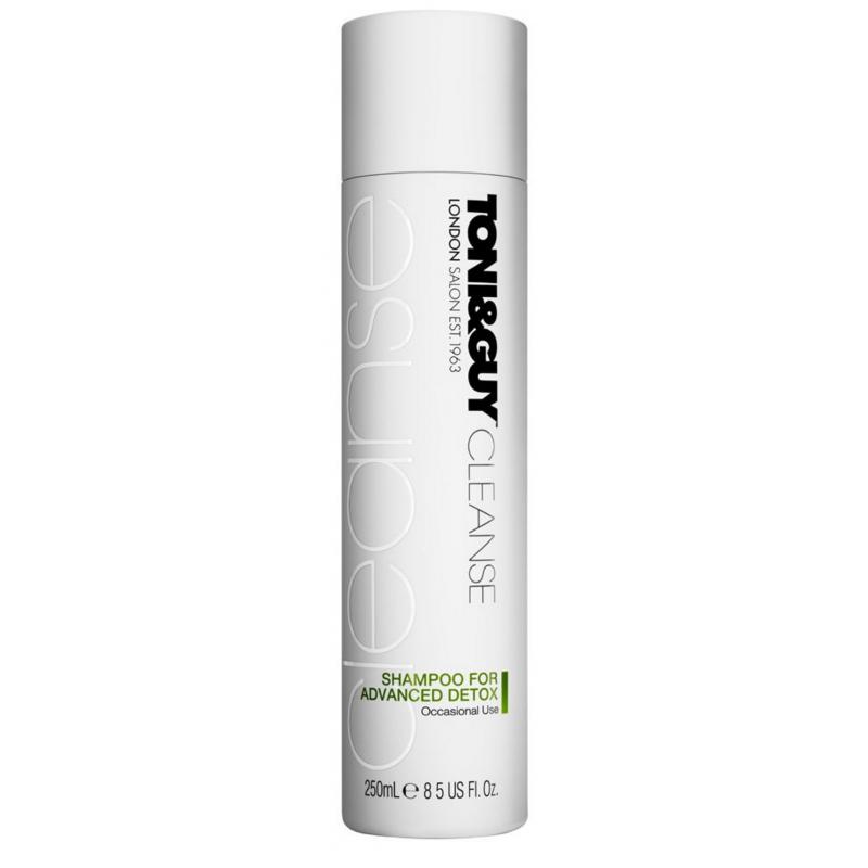 toni and guy detox shampoo review