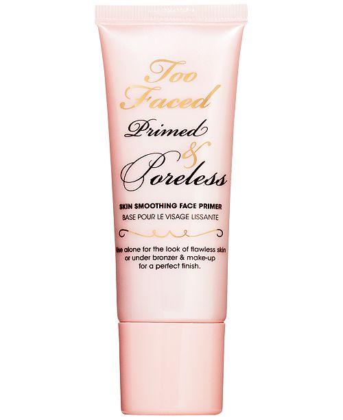 primed and poreless too faced review