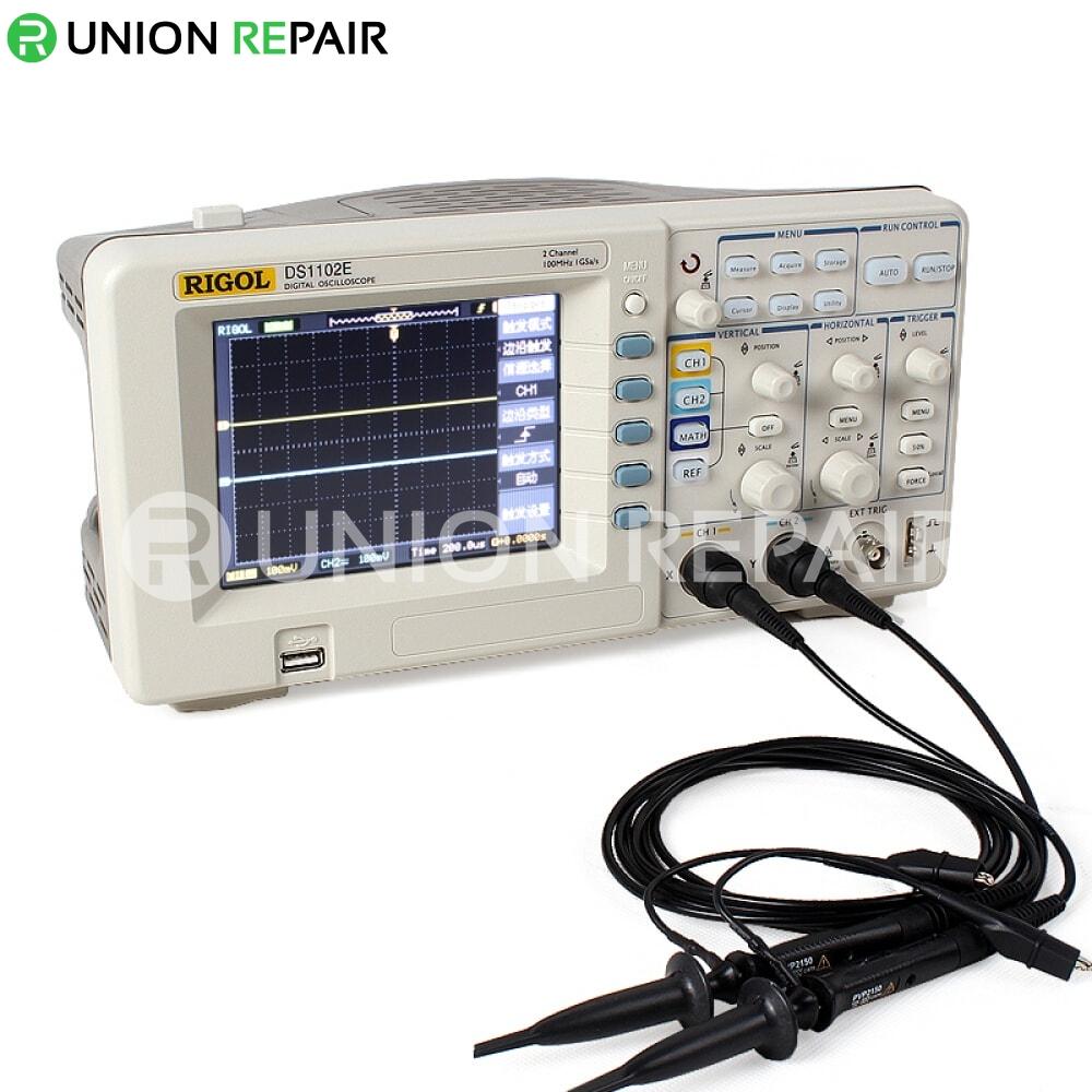 rigol ds1102e 100mhz digital oscilloscope review