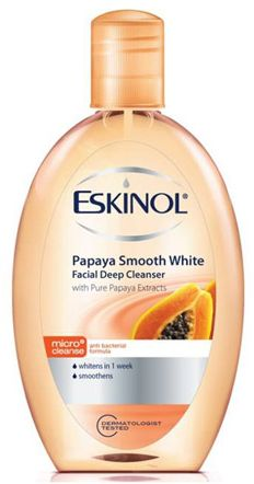 skin white facial cleanser review
