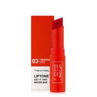 tonymoly liptone get it tint water bar review