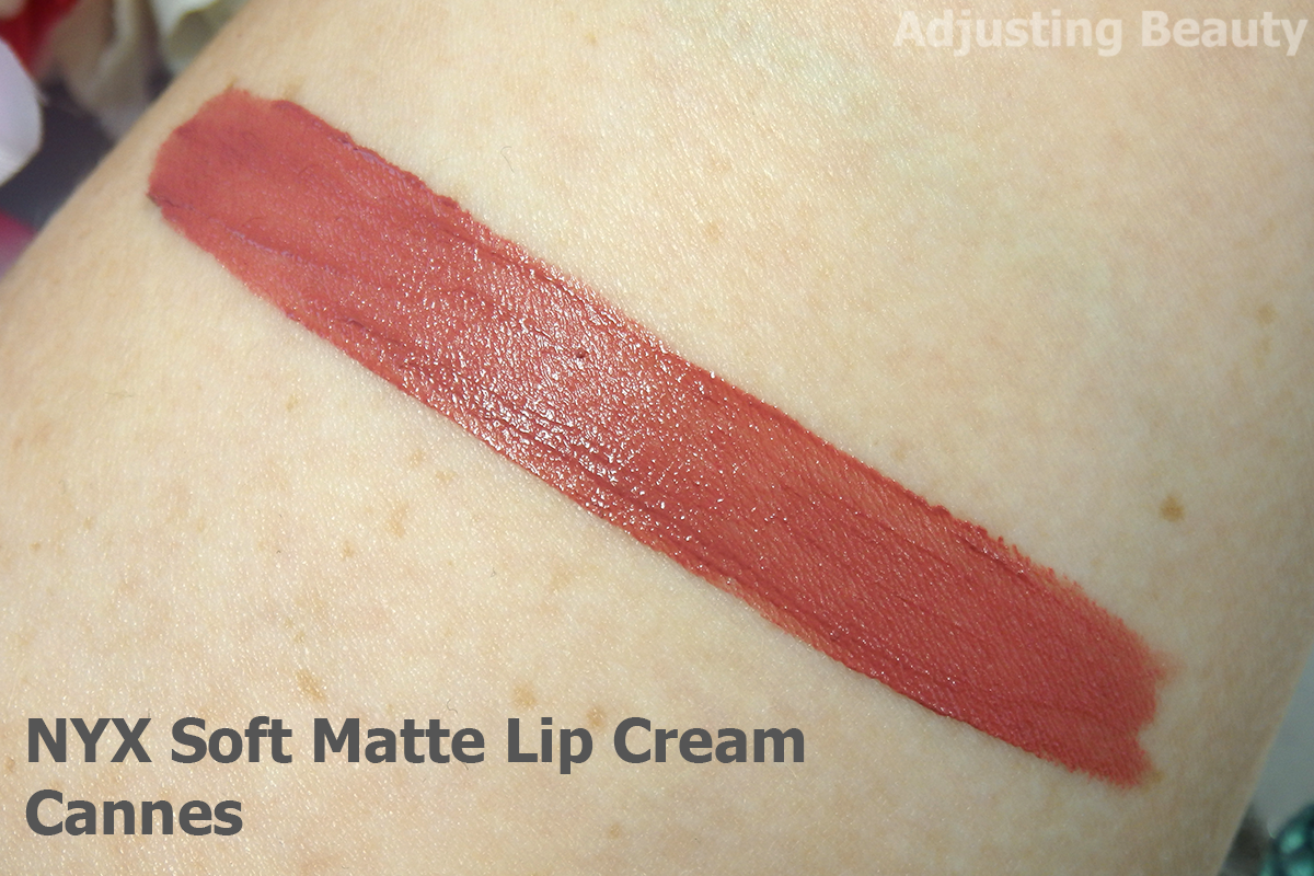 nyx soft matte lip cream cannes review