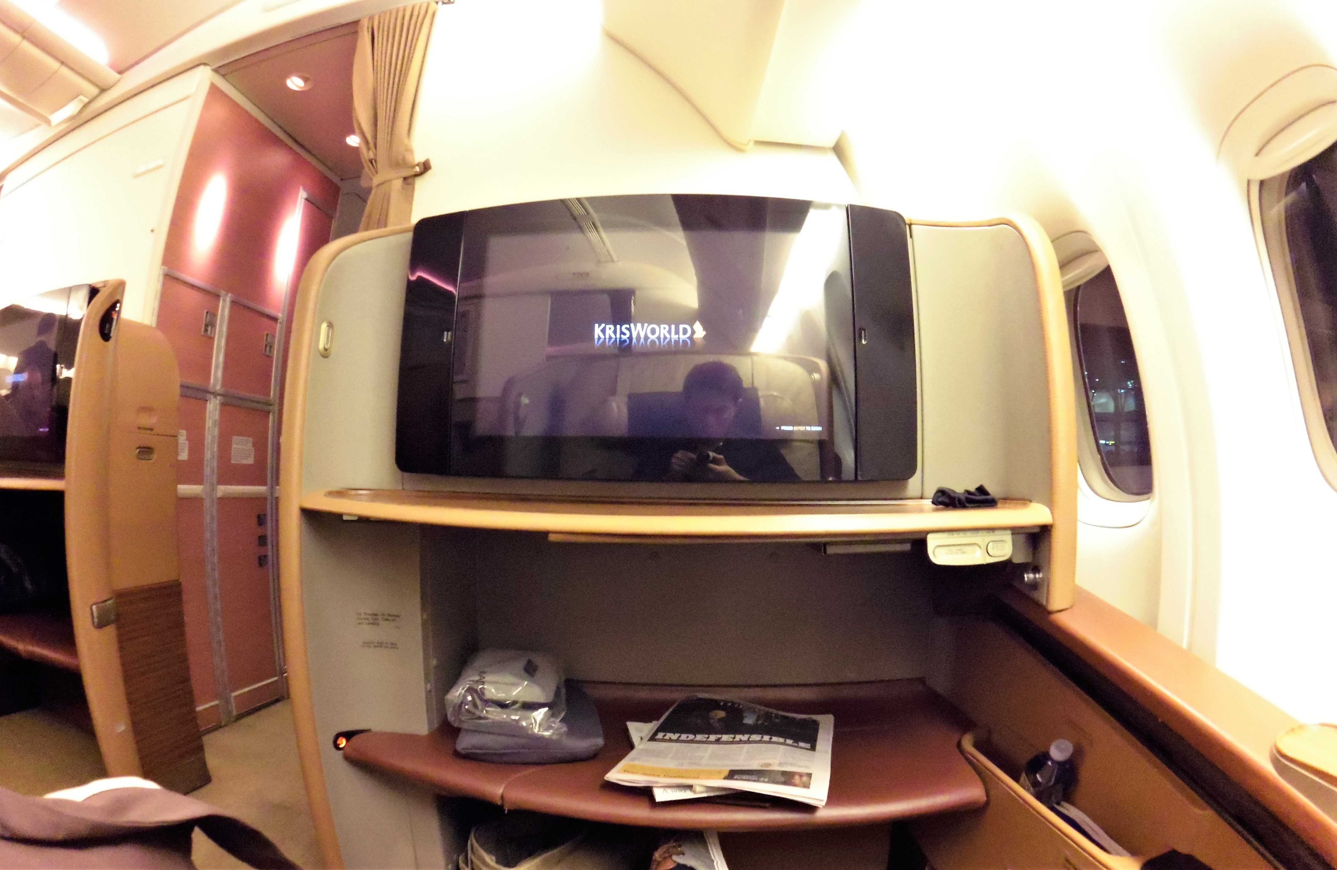 singapore airlines melbourne to singapore review