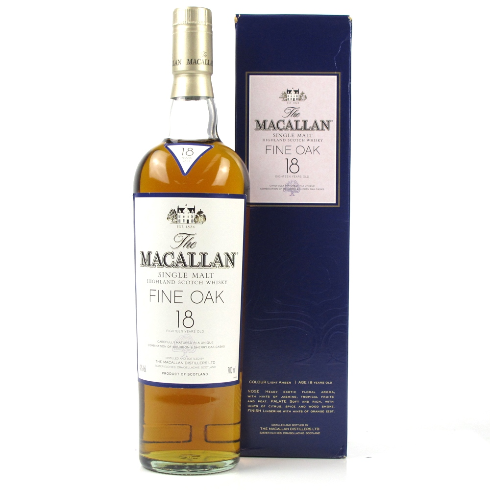 macallan 18 fine oak review