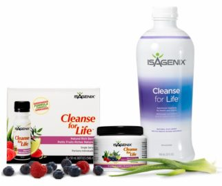 isagenix cleanse for life powder review