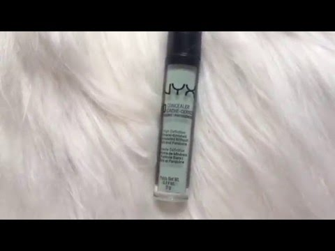 nyx color correcting concealer review