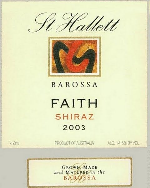 st hallett faith shiraz 2012 review