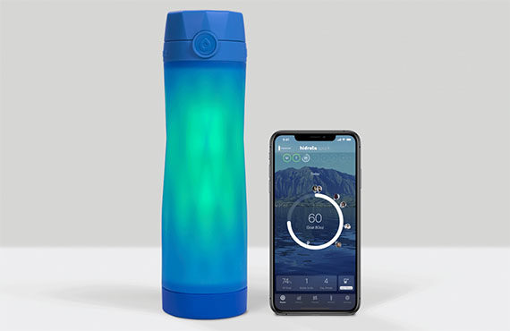 hydrafit smart water bottle review
