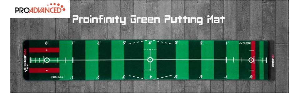 proadvanced proinfinity putting mat review