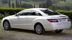 mercedes e class coupe 2010 review