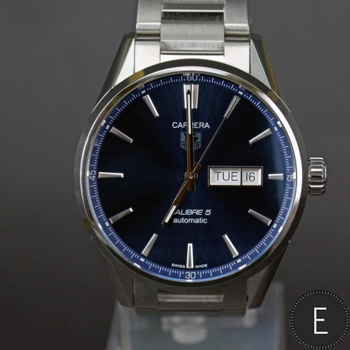 tag heuer carrera 5 review