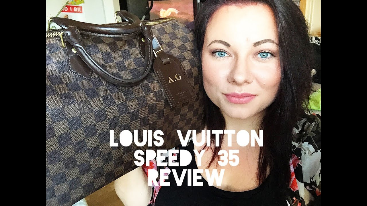 louis vuitton speedy 35 review