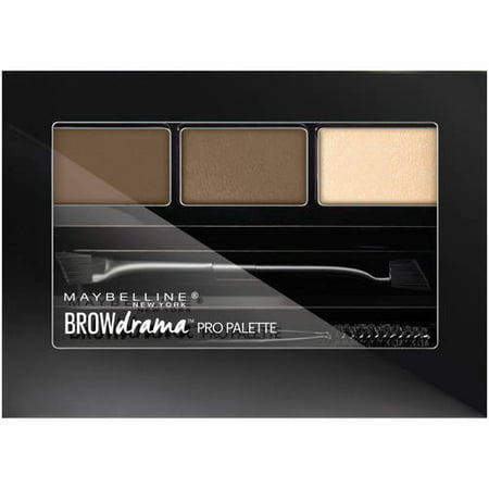 maybelline master brow pro palette review