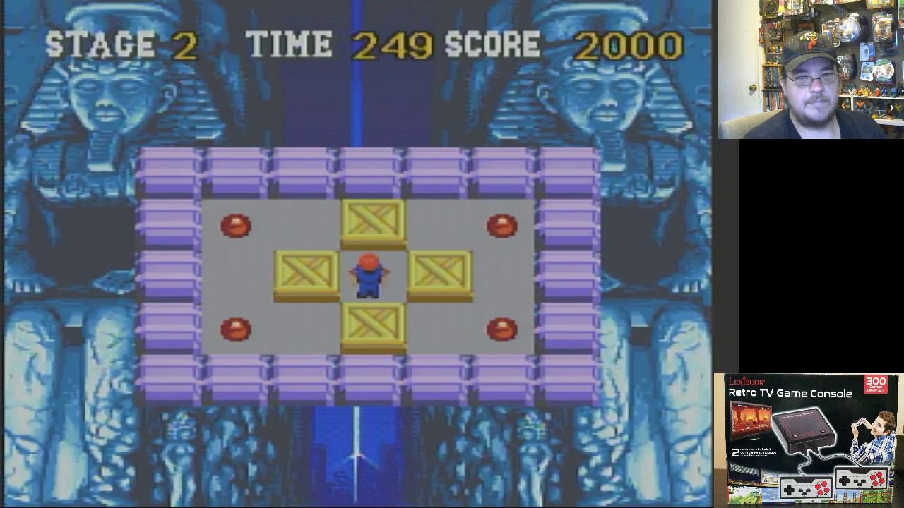 lexibook retro tv game console review