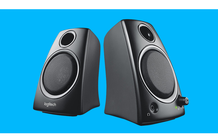 logitech z130 stereo speakers review