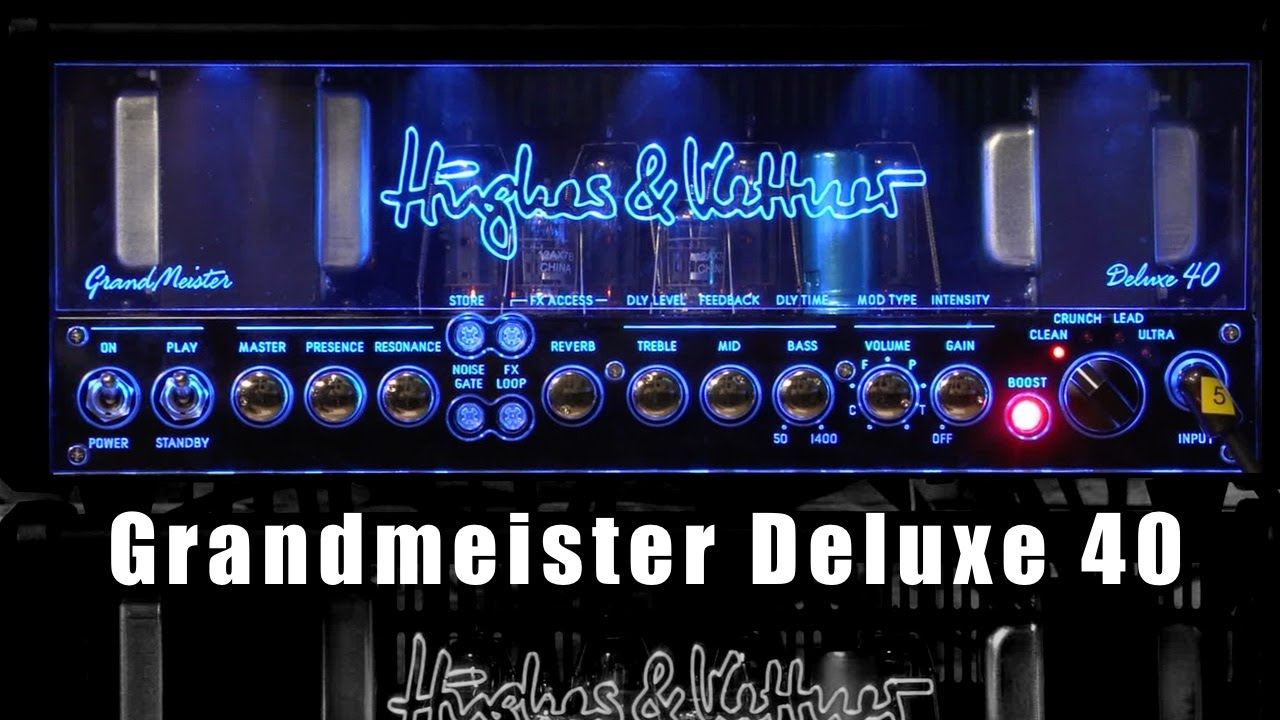 hughes and kettner grandmeister 40 deluxe review