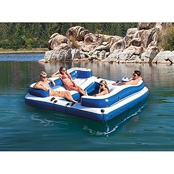 tropical tahiti floating island 7 person reviews