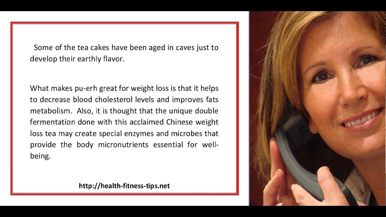 pu erh weight loss reviews