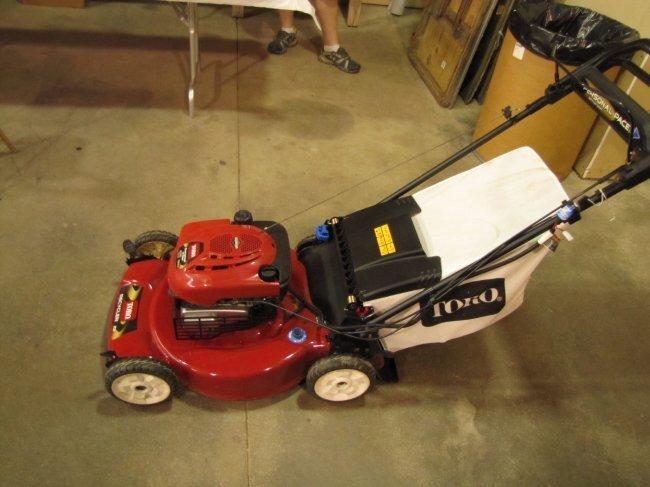 toro electric start lawn mower reviews