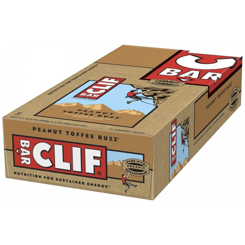 peanut toffee buzz clif bar review