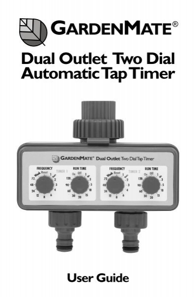 pope two dial tap timer review