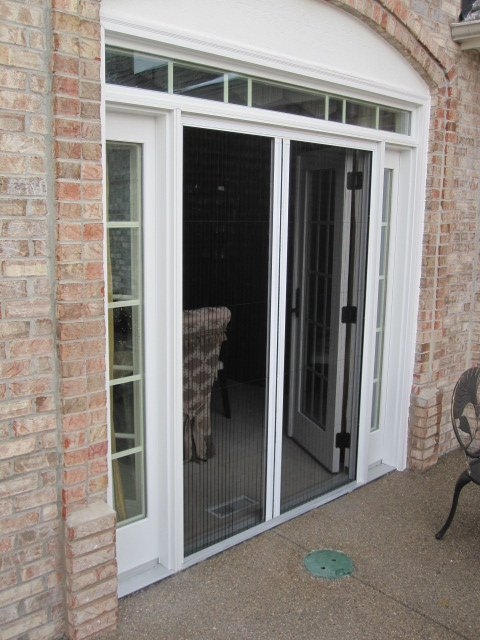plisse retractable screen door reviews