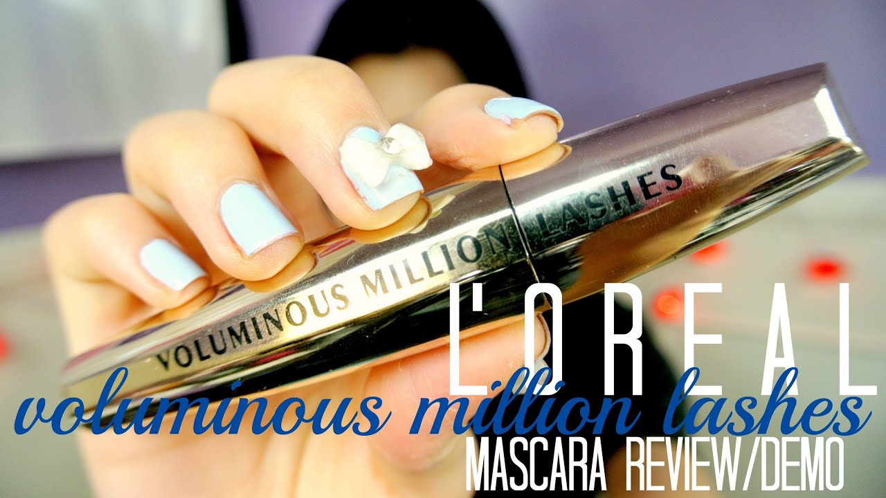 l oreal volume million lashes waterproof review