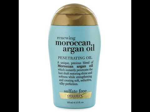 organix argan oil penetrating oil review