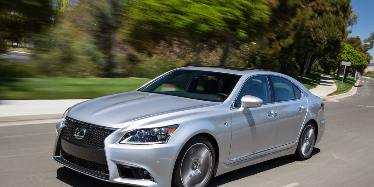 used lexus ls 460 review