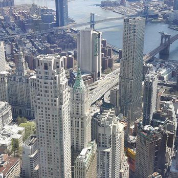 one world observatory restaurant review