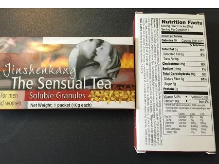 the sensual tea jinshenkang reviews