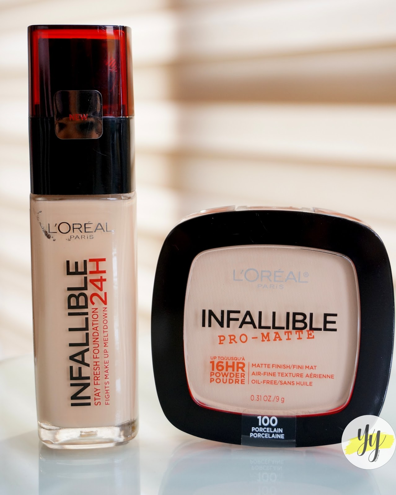 l oreal infallible creamy powder foundation review