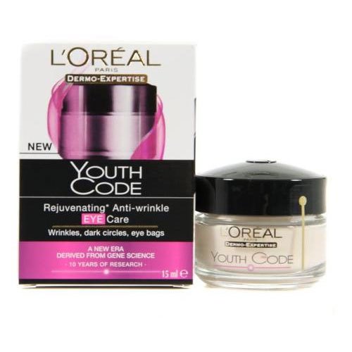 l oreal paris youth code eye cream review