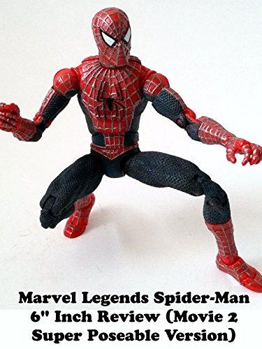 marvel legends spider man review