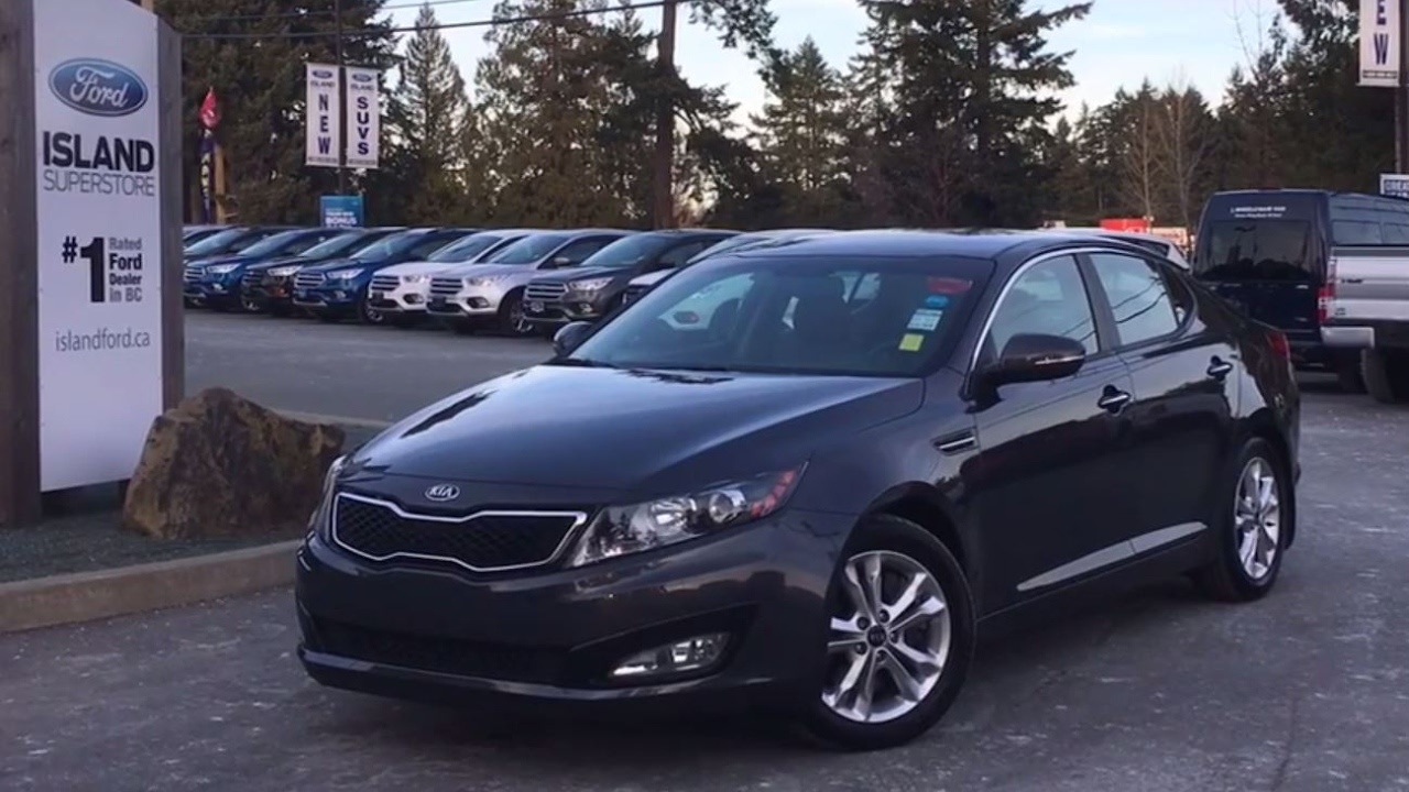kia optima 2014 review youtube