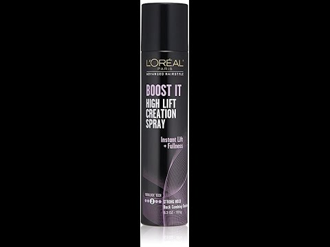 l oreal boost it high lift creation spray review