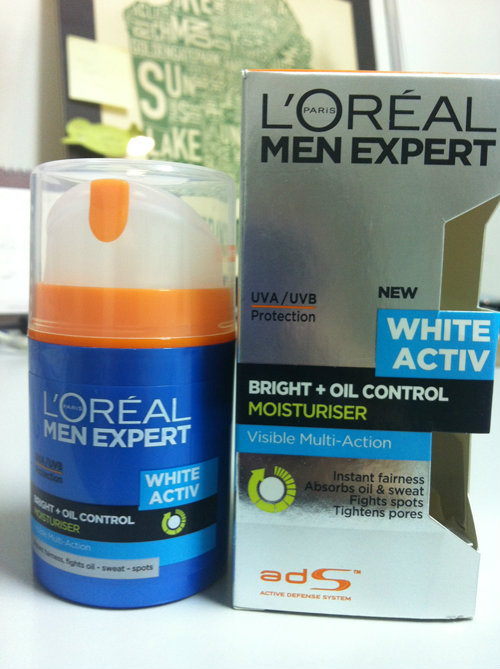 loreal mens expert white activ review