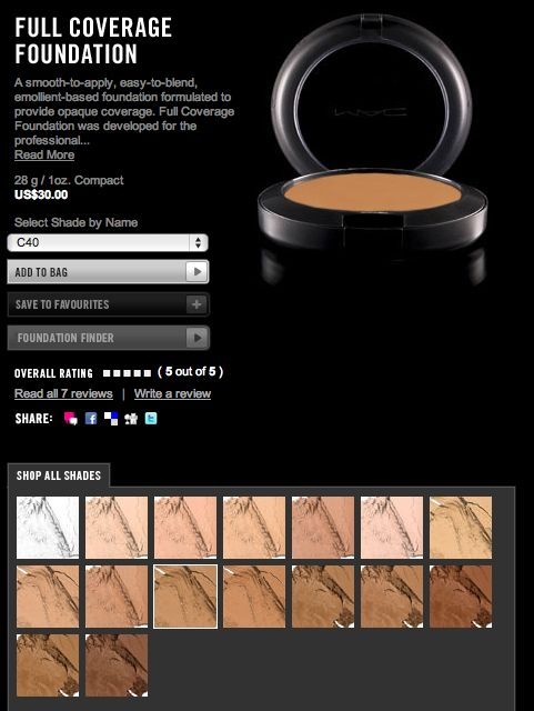mac pro full coverage foundation review