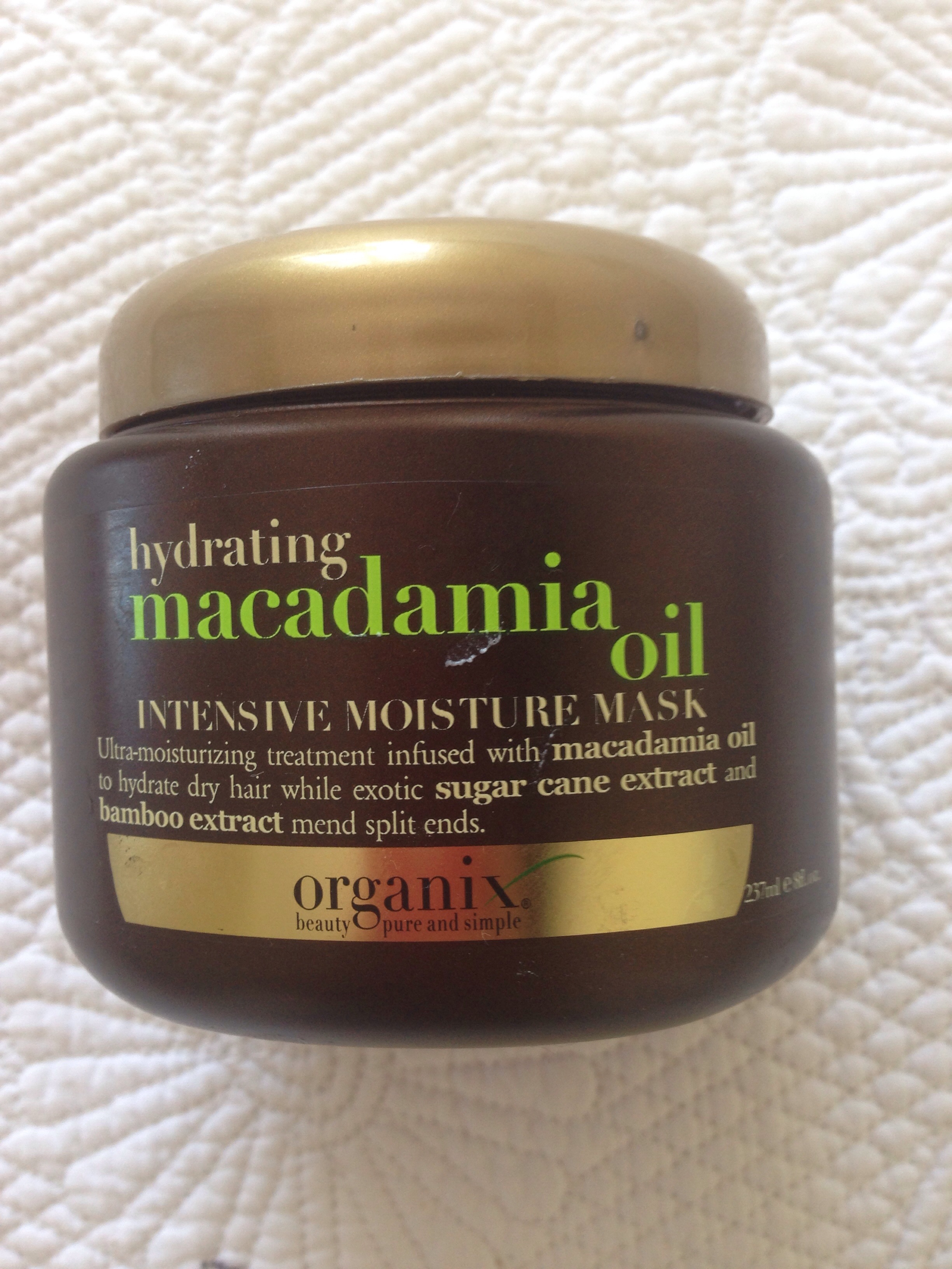 macadamia oil extract hair mask review