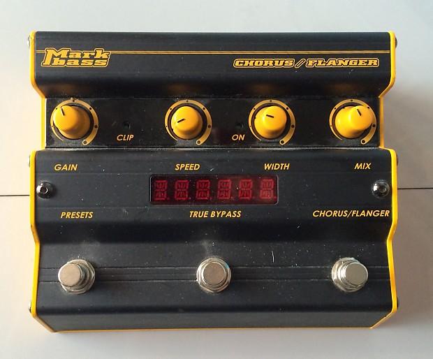 markbass chorus flanger bass pedal review