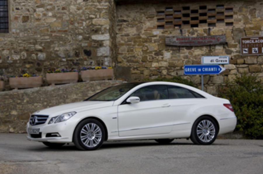 mercedes e350 cdi coupe review
